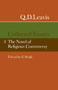 Q.D. Leavis Collected Essays 3 Volume Set by Q. D. Leavis - Paperback - from Cold Books and Biblio.com