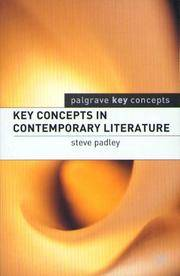Key Concepts in Contemporary Literature (Palgrave Key Concepts)