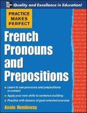 Practice Makes Perfect: French Pronouns and Prepositions (Practice Makes Perfect Series)