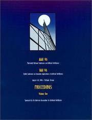 AAAI-96: Proceedings of the 13th National Conference on Artificial Intelligence