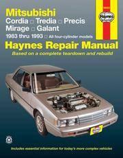 Mitsubishi Cars, '83'93 (Haynes Repair Manuals)