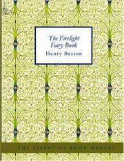 The Firelight Fairy Book