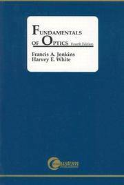 Fundamentals of Optics by Francis Jenkins; Harvey White - Paperback - 2001-12-03 - from Ergodebooks (SKU: SONG0072561912)