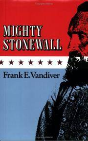 image of Mighty Stonewall (Volume 9) (Williams-Ford Texas A&M University Military History Series)