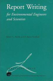 Report Writing for Environmental Engineers and Scientists