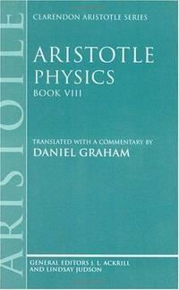 image of Aristotle: Physics, Book VIII (Hardback)