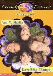 image of Everything Changes (Baby-Sitters Club Friends Forever Super Special, 1)