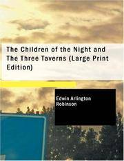 The Children Of the Night and The Three Taverns