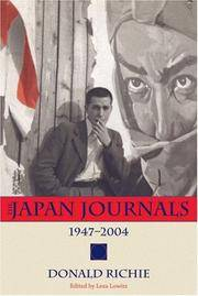 The Japan journals 1947-2004