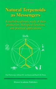 Natural Terpenoids as Messengers: A Multidisciplinary Study of Their Production, Biological...