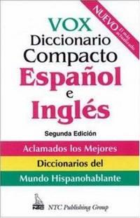 image of Vox Diccionario Compacto Espanol e Ingles