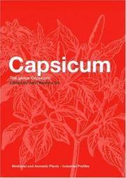 Capsicum The Genus Capsicum