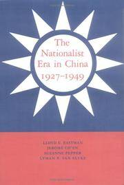 The Nationalist Era in China, 1927-1949