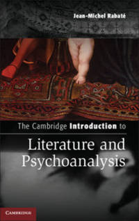 The Cambridge Introduction to Literature and Psychoanalysis