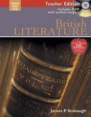 image of British Literature: Encouraging Thoughtful Christians to be World Changers: Senior High Level Teacher Edition (Includes DVD with Author Insights) (Broadman_Holman Literature Teacher Editions)