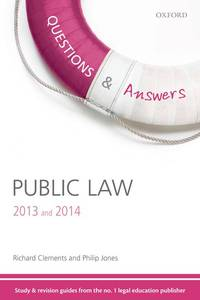 Q & A Revision Guide Public Law 2013 and 2014 (Law Questions & Answers)