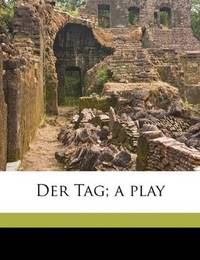 image of Der Tag; a play