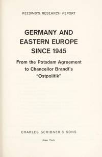 Germany and Eastern Europe since 1945 From the Pot