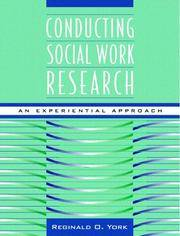 Conducting Social Work Research: An Experiential Approach