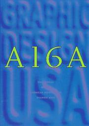 A16A: The Annual of the American Institute of Graphic Arts