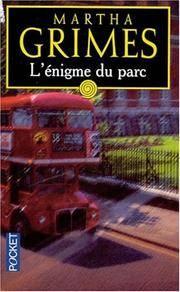 image of L'énigme du parc by Grimes, Martha