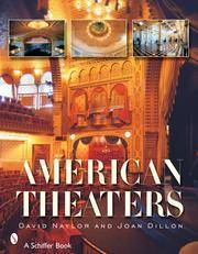 AMERICAN THEATERS. Performance Halls Of The Nineteenth Century.