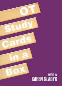 OT Study Cards in a Box