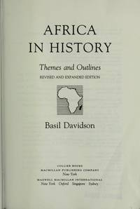 Africa in History: Themes and Outlines
