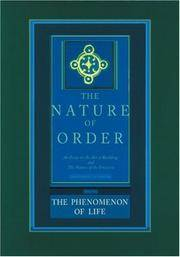 Nature Of Order - Book One