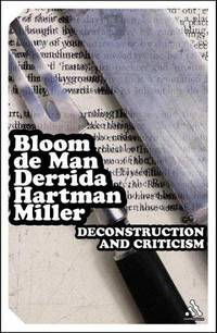EPZ Deconstruction and Criticism (Continuum Impacts) by  Paul De  Harold; Man - Paperback - 2004 - from The John Bale Book Co and Biblio.com
