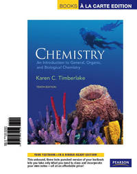 image of Chemistry: An Introduction to General, Organic,_Biological Chemistry, Books a la Carte Edition (10th Edition)