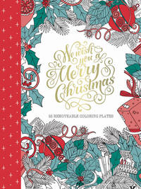 GENERIC Merry Christmas Adult Coloring Book