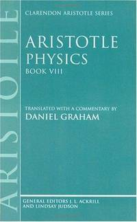 image of Aristotle: Physics, Book VIII (Paperback)
