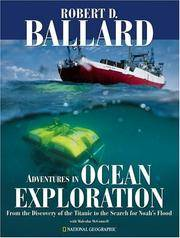 image of Adventures in Ocean Exploration : From the Discovery of the Titanic to the Search for Noah's Flood