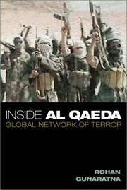 Inside Al Qaeda by Rohan Gunaratna - Hardcover - 2002-05 - from Ergodebooks (SKU: SONG0231126921)