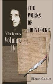 image of The Works of John Locke: Volume 5