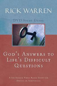 God's Answers to Life's Difficult Questions Study Guide by Warren, Rick