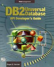 DB2 Universal Development Guide