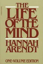 image of The Life of the Mind (Combined 2 Volumes in 1)