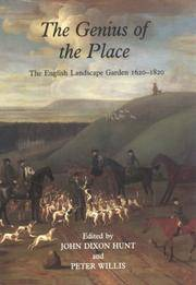 The Genius of Place: The English Landscape Garden 1620-1820