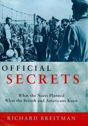 image of Official Secrets / What the Nazis Planned, What the British and Americans Knew