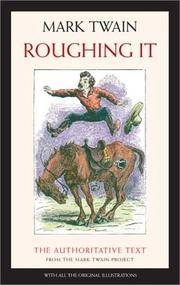 image of Roughing It (Mark Twain Library)