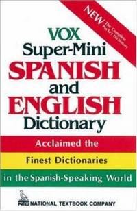 image of Vox Super-Mini Spanish and English Dictionary