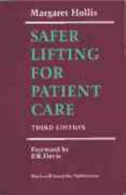 SAFER LIFTING FOR PATIENT CARE, 3/E