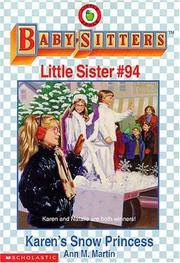 image of Karen's Snow Princess (The Baby-Sitters Club Little Sister)