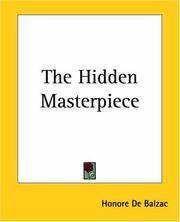 image of The Hidden Masterpiece