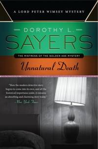 image of Unnatural Death: A Lord Peter Wimsey Mystery