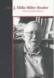 The J. Hillis Miller Reader [Paperback] [Jan 01, 2004] WOLFREYS.