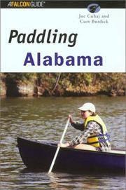 Paddling Alabama (Regional Paddling Series)