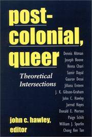 Post-colonial, Queer: Theoretical Intersections (Suny Series, Explorations in Postcolonial Studies) by  John C. [Editor] Hawley - Paperback - 2001-08-30 - from Text Exchange (SKU: TQ-1034)